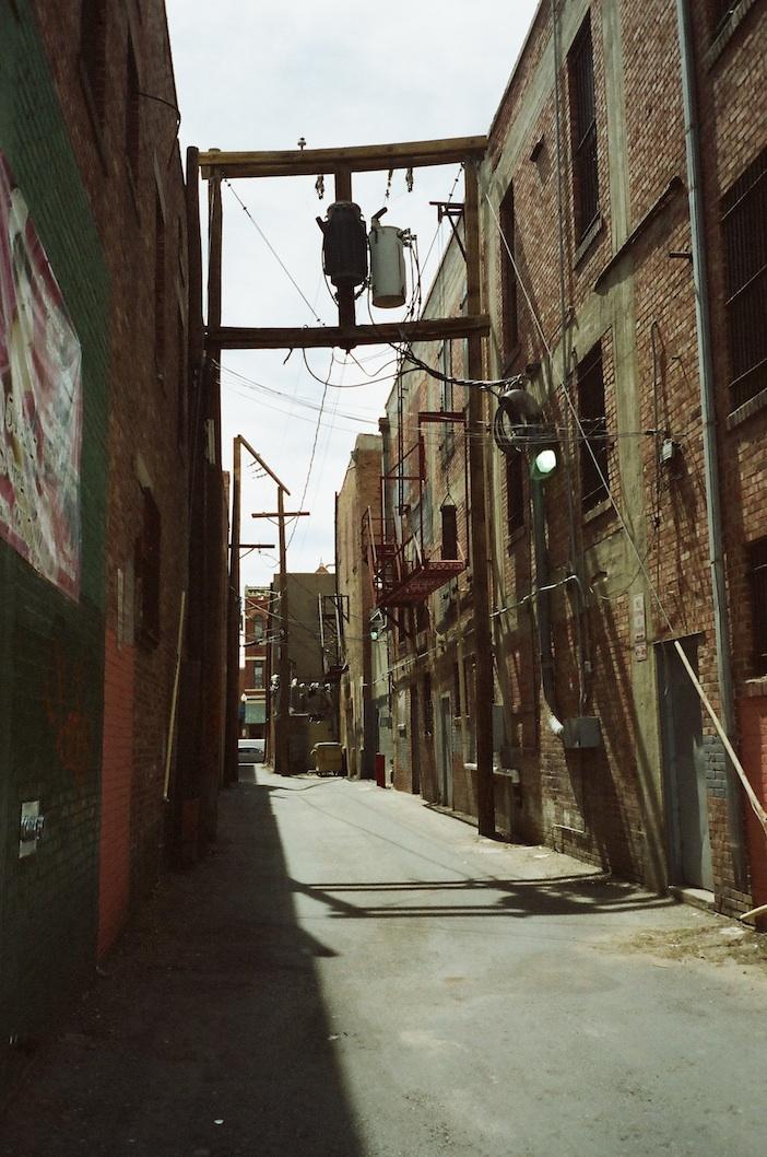 El Paso alley.