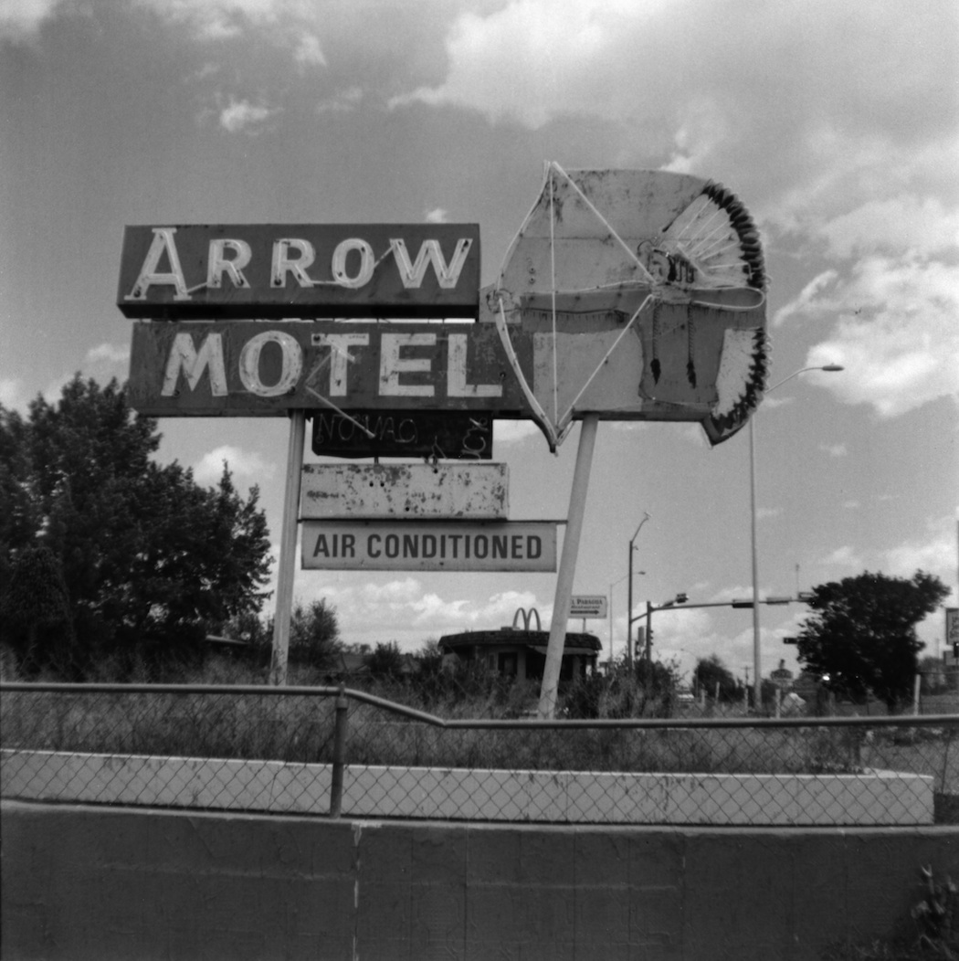 The Arrow Motel is definitely empty.