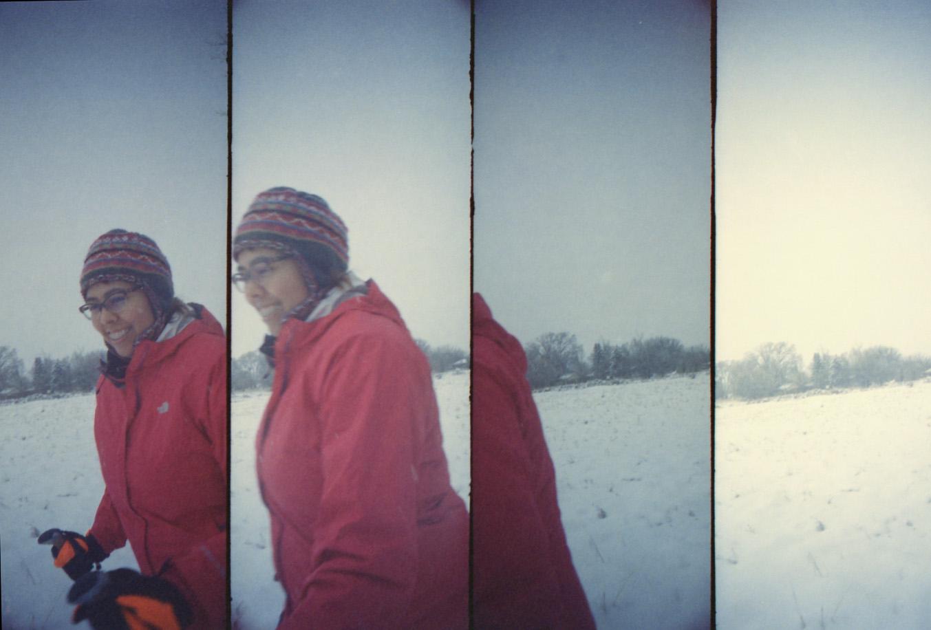 Snowshoe fun!