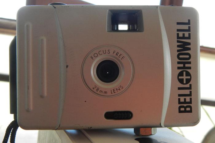 The camera.