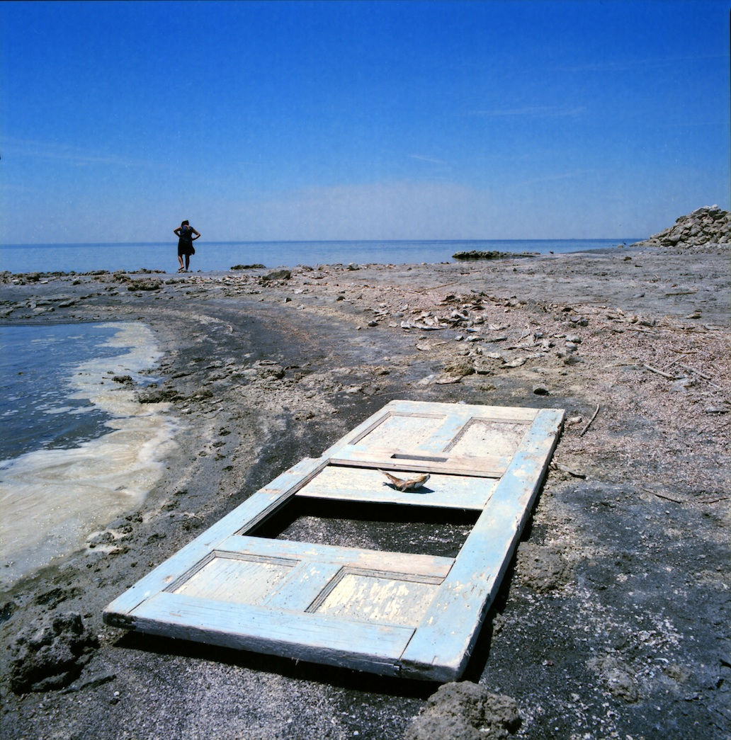 Your doorway to the good life.  Salton Sea.  Kodak Ektar.