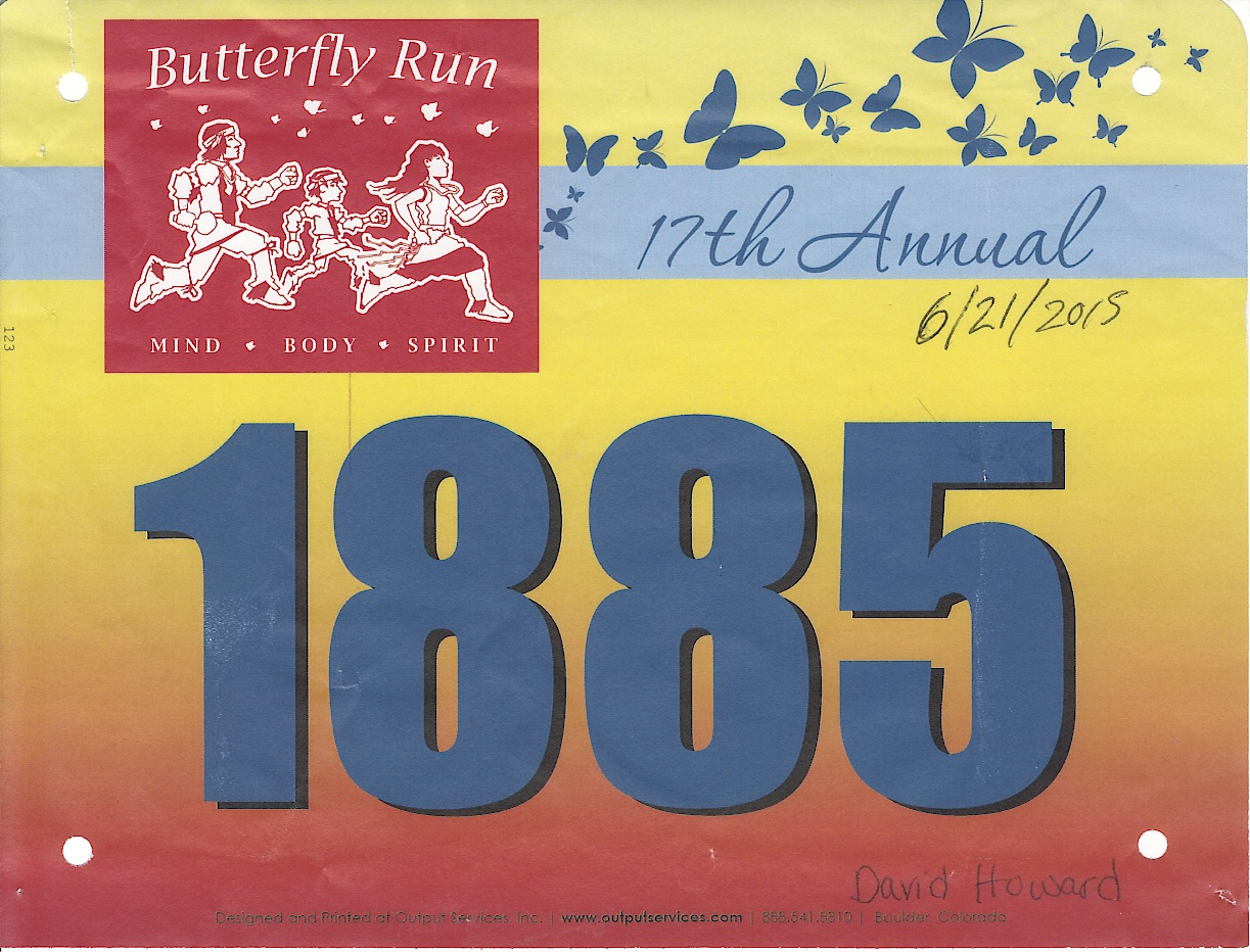 2015 Pueblo of Pojoaque Butterfly Run 5K -- I was slow, 43:58, but it was fun.