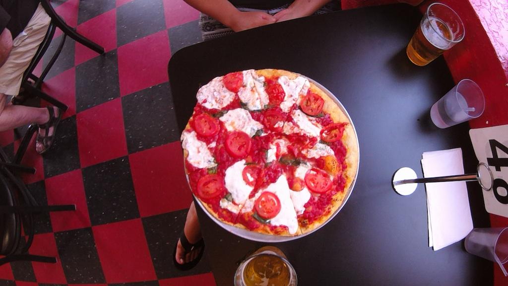 Mmm... Back Road Pizza.