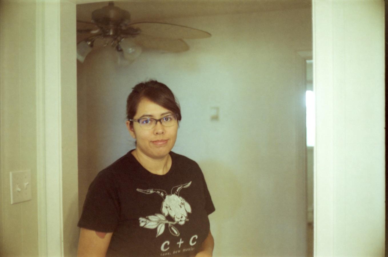 My sweetie.  1/60 & f/1.8.