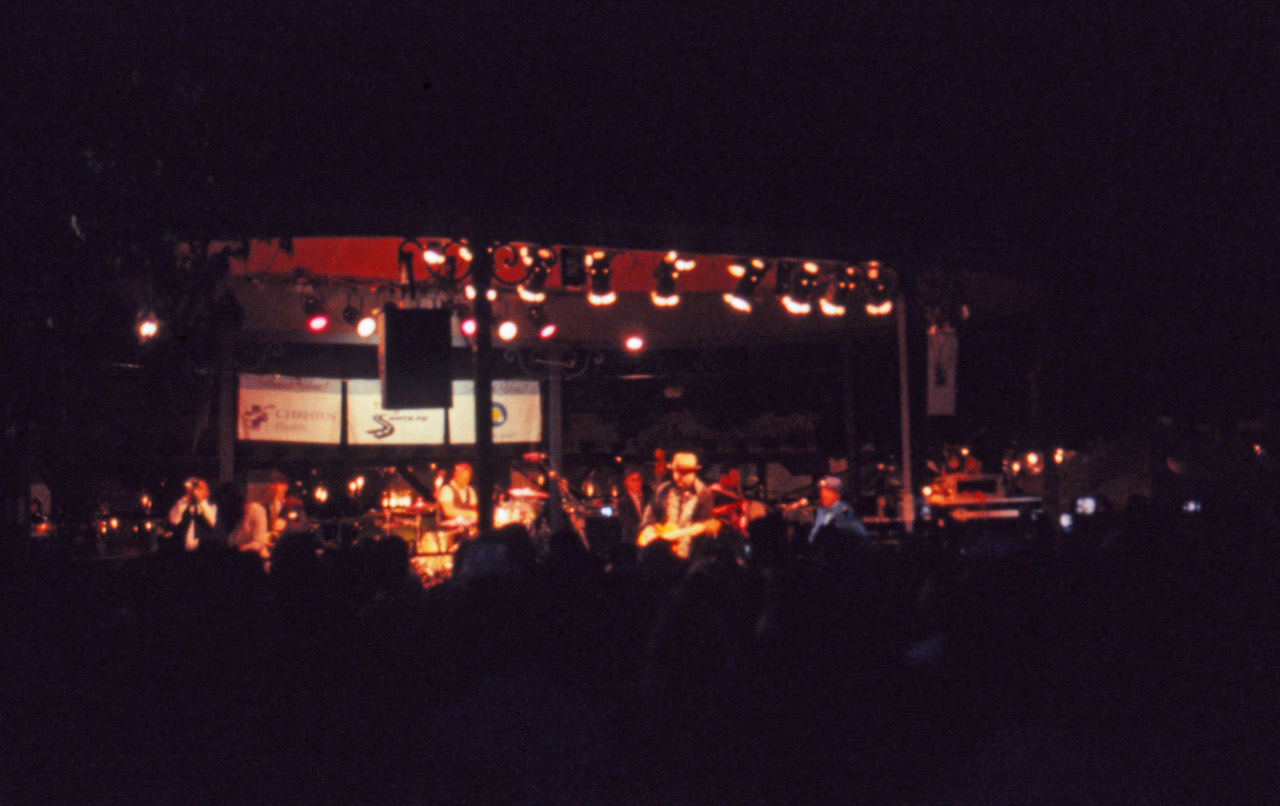 The Mavericks on the plaza in Santa Fe.  I couldn't have gotten this with the ISO 100 Ektachrome.
