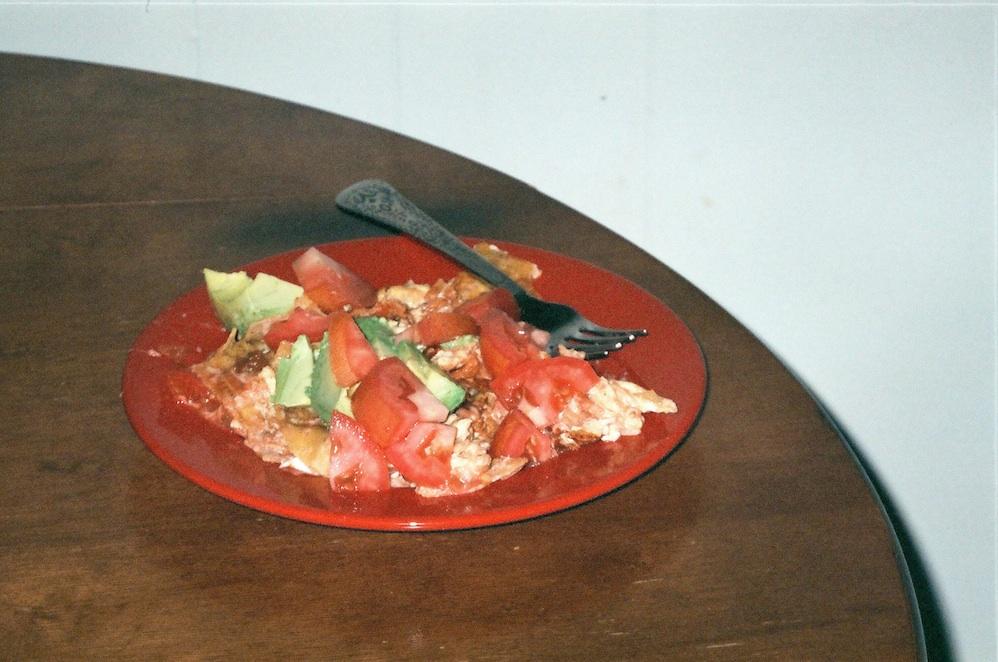 Migas -- breakfast of champions!