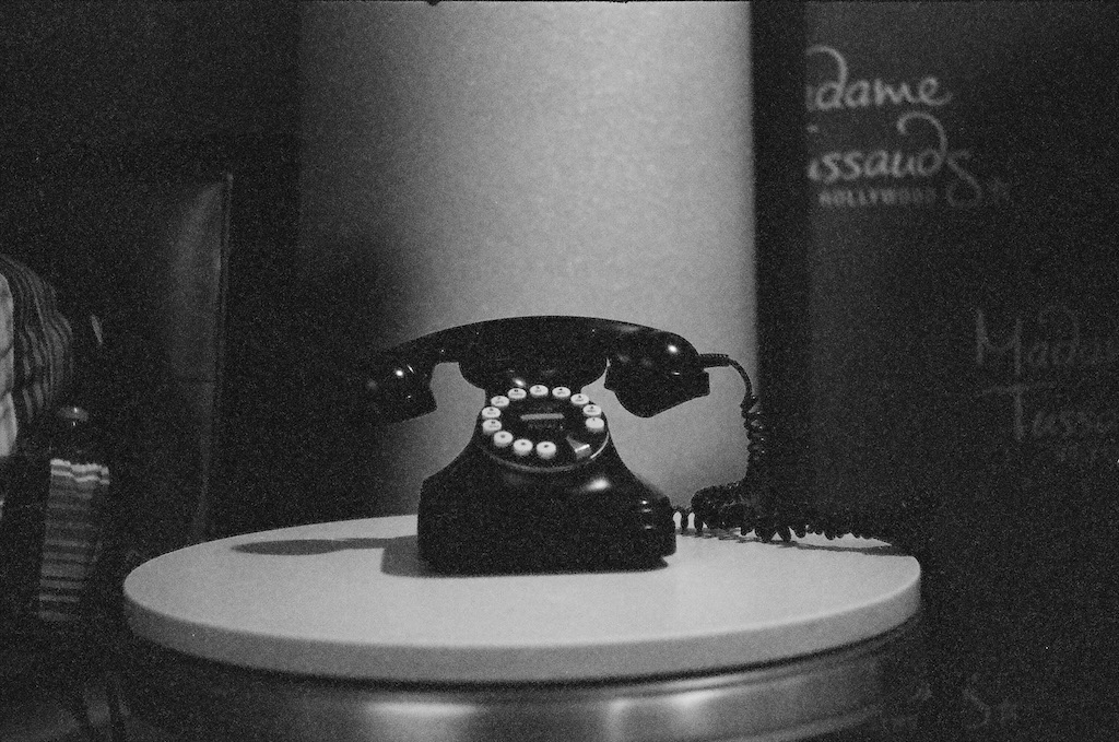 Phone in the lobby of the Hilton Garden Inn Los Angeles/Hollywood.