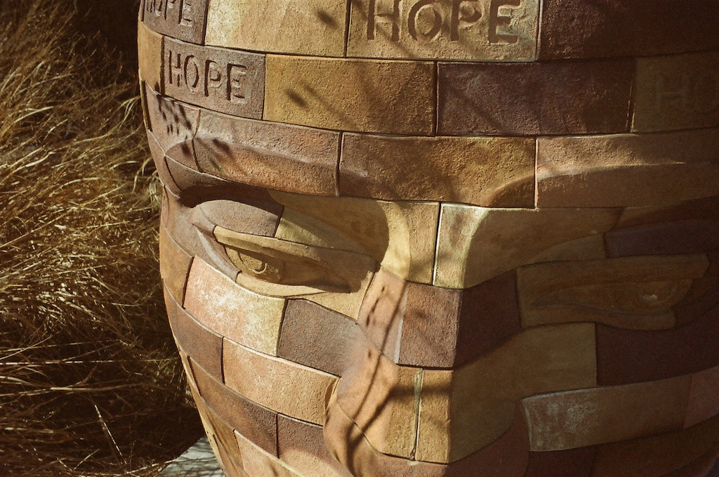 """Brickface Hope"" by James Tyler."