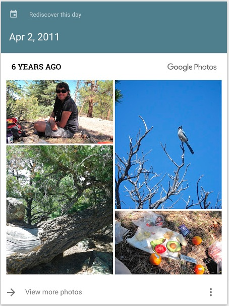 Atalaya, six years ago.