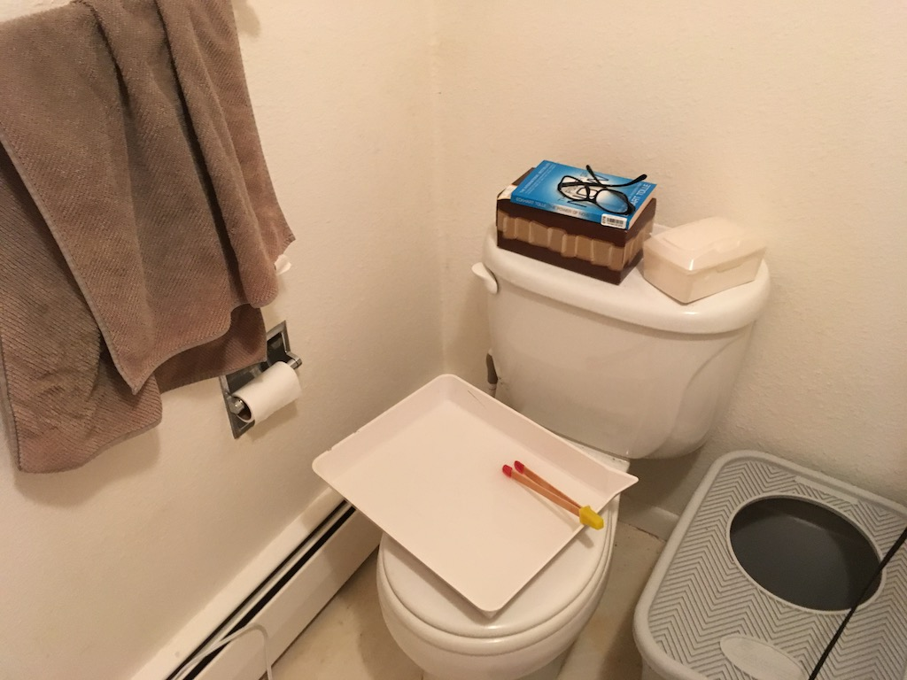 Fix (It's a small bathroom)...