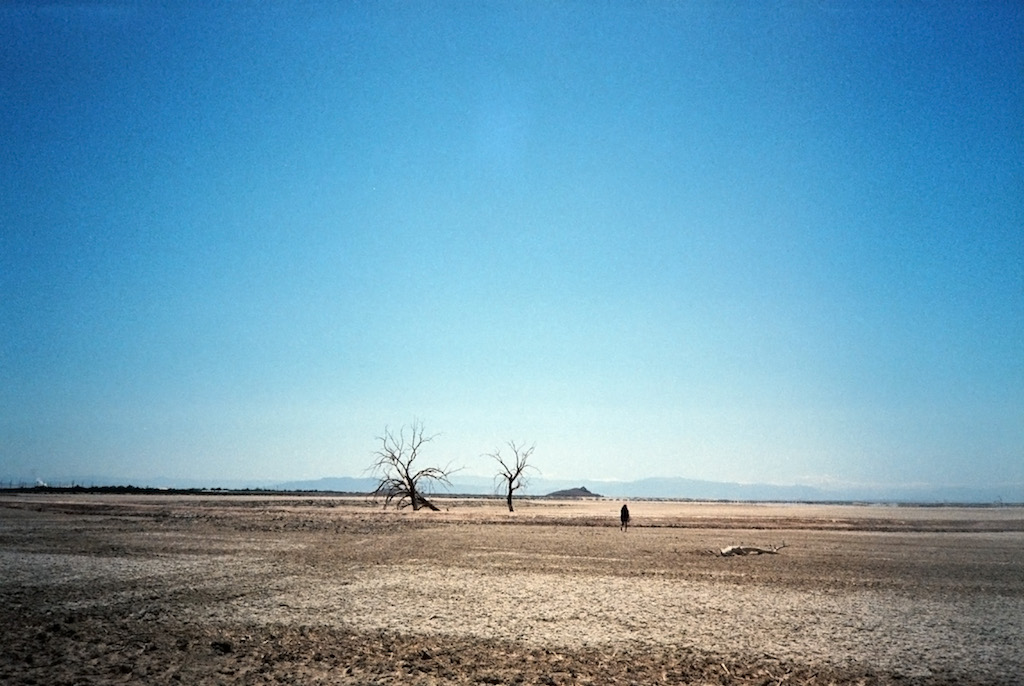 Eastern side of the Salton Sea.