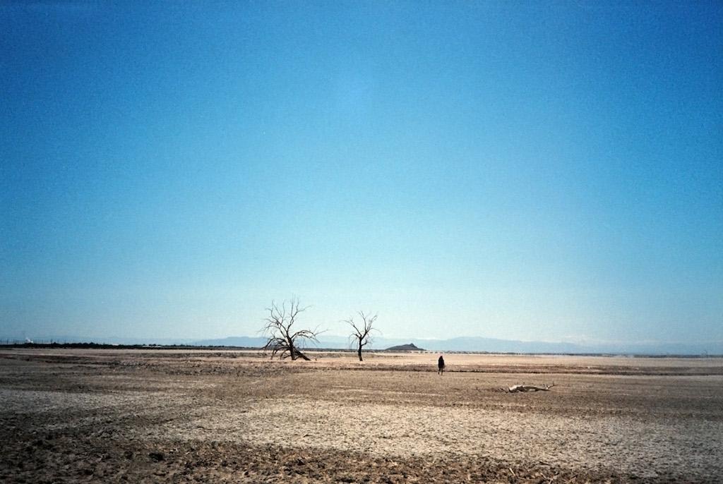 Eastern side of the Salton Sea.
