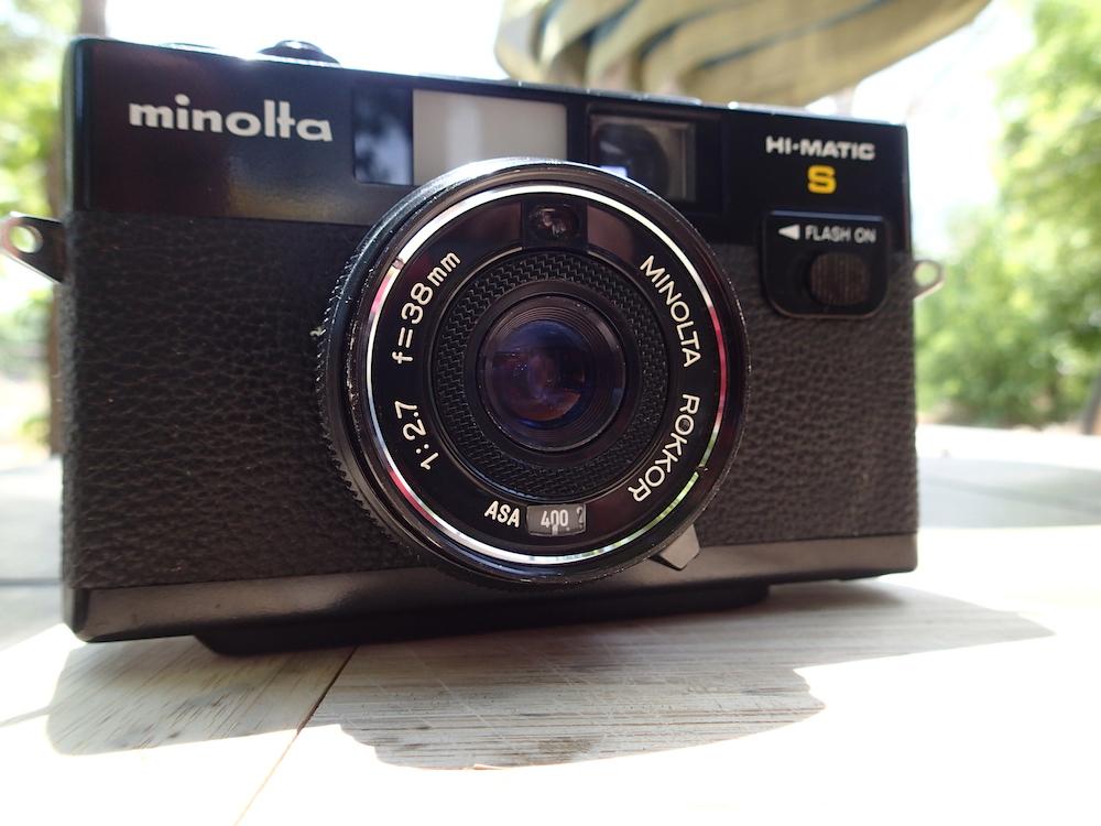 Minolta Hi-Matic S -- front