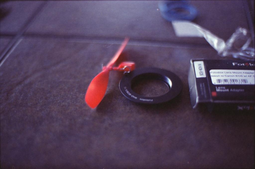 Nikon 50mm at f/1.4.