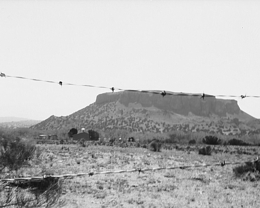 Black Mesa and La Capilla de la Familia Sagrada
