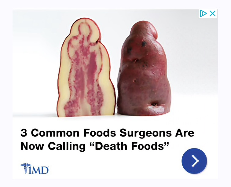 Ice cream?  Potato?  Diseased organ?
