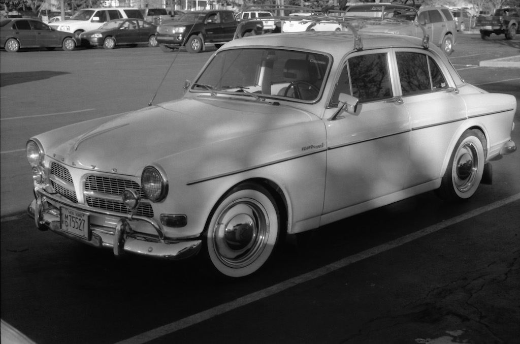 Gorgeous old Volvo by the co-op in Santa Fe.
