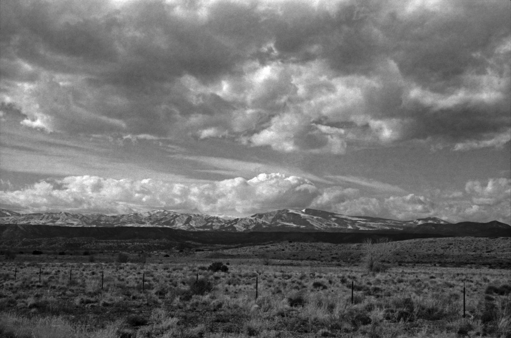 Jemez Mountains from La Mesilla