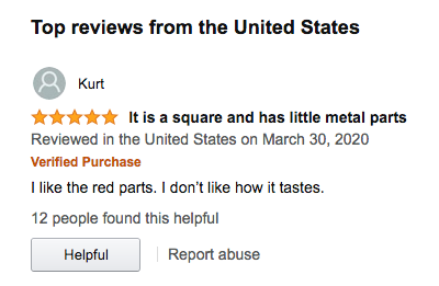I don't even remember what this was reviewing.