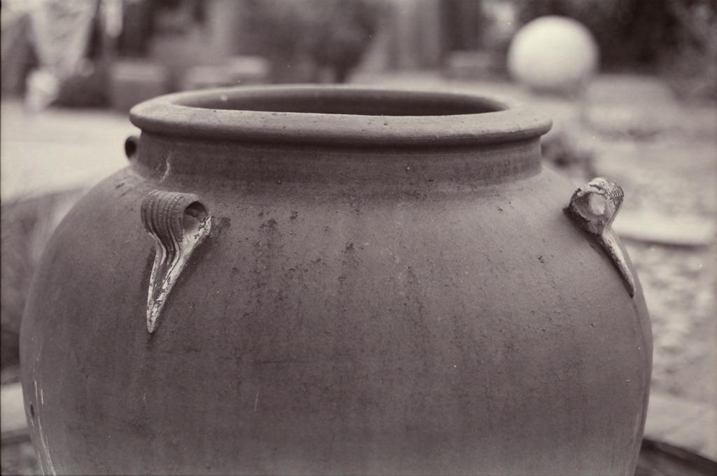 Pot near Il Vicino pizza in Santa Fe.
